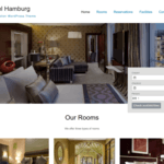 Hotel Hamburg WordPress Theme