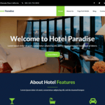 Hotel Paradise Wordpress Theme