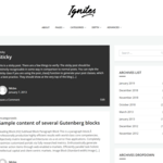 Ignites Wordpress Theme