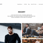 Imagery Wordpress Theme