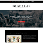 Infinity Blog Wordpress Theme