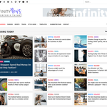 Infinity News Wordpress Theme