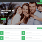 Insurance Gravity Wordpress Theme