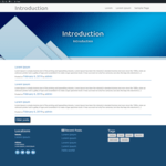 Introduction Wordpress Theme