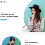 Intuitive Wordpress Theme