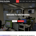 Isha WordPress Theme