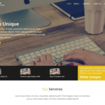 IWebUnique Wordpress Theme