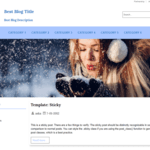 JL Best-Blog WordPress Theme