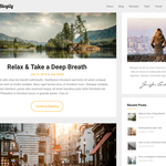 JournalistBlogily Wordpress Theme