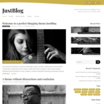 JustBlog Wordpress Theme