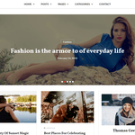 Key Blog WordPress Theme