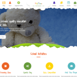 Kids Education Wordpress Theme