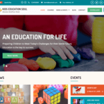 Kids Education Soul WordPress Theme