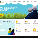 Kindergarten Education Wordpress Theme