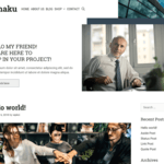 Kohaku WordPress Theme