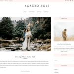 Kokoro Rose Wordpress Theme