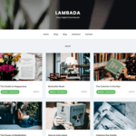 LambadaLite Wordpress Theme