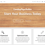 LandingPageBuilder Wordpress Theme