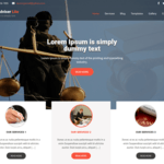 Legal Adviser Lite Wordpress Theme
