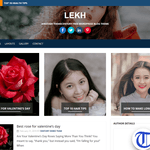 Lekh Wordpress Theme