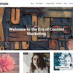 Letterum Wordpress Theme