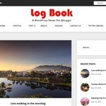 Log Book WordPress Theme