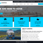 Logistic Transport Wordpress Theme