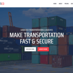 Logistico Wordpress Theme