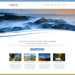 Longevity Wordpress Theme