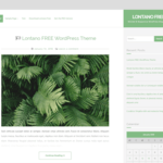 Lontano WordPress Theme