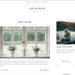 Lotuslite Wordpress Theme