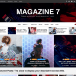 Magazine 7 Wordpress Theme
