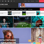 Magazine Hub Wordpress Theme