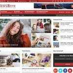 Magazine News Byte Wordpress Theme