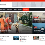 Magazine Press Wordpress Theme
