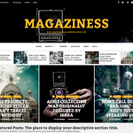 Magaziness Wordpress Theme