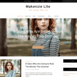 Makenzie Lite WordPress Theme