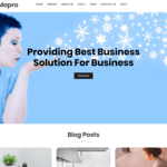 Mapro WordPress Theme