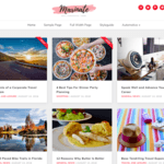Marinate Wordpress Theme