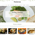 Marjoram Wordpress Theme