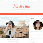 Marlin lite Wordpress Theme