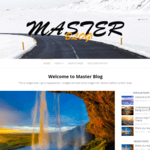 Master Blog Wordpress Theme