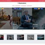 Masterpiece Wordpress Theme