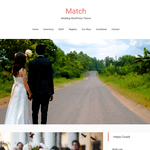 Match WordPress Theme