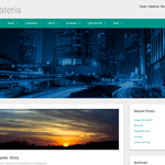 Materia Lite Wordpress Theme