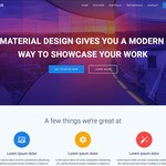Materialis Wordpress Theme