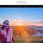 Maya Blog Wordpress Theme