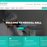 Medical Hall Wordpress Theme