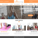 Meditation And Yoga Wordpress Theme