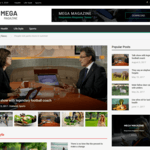Mega Magazine Wordpress Theme